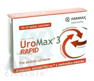 UROMAX 3 RAPID 10+10 TBL 20